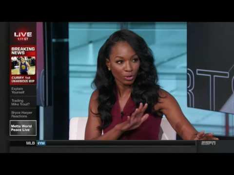 Sara Walsh and Cari Champion | ESPN