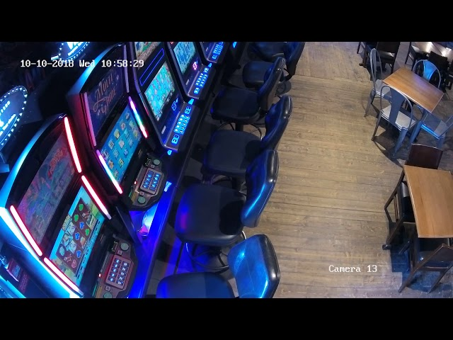 Security Camera for Gambling - Video lottery terminals - VLTs