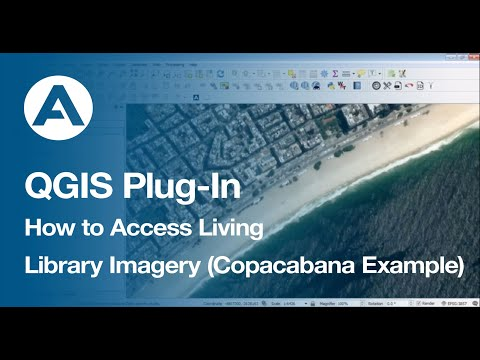 QGIS Plug-In: How to Access Living Library Imagery (Copacabana Example)