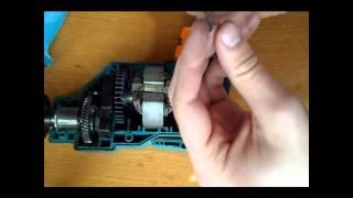 Замена щеток в электродрели