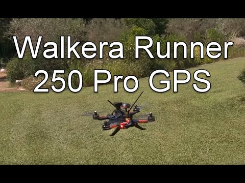 Walkera Runner 250 Pro - Test Flight FPV Drone With GPS, Flight With Eachine EV200D Goggles