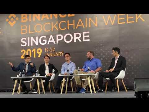 "BINANCE week 2019, Singapore – A wonderful panel with ""Mike from America"" aka Michael Arrington :)"