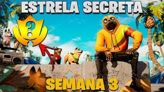 COMMENT À FIND SECRET STAR OF THE WEEK 3 SEASON 9-FORTNITE - NTS