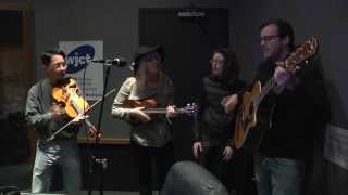 "Canary in the Coalmine perform ""Dancing Devil"" WJCT 89.9: Studio 5 Sessions"