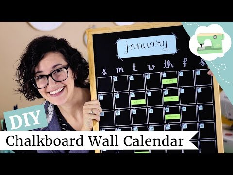 diy-wall-calendar---how-to-make-a-chalkboard-monthly-planner-|-@laurenfairwx