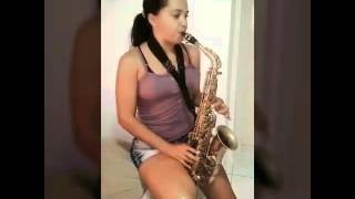Aprendendo Sax  alto notas longa. 🎷