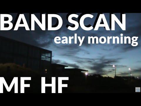 MF HF band scan: Melbourne 9 Feb 2017
