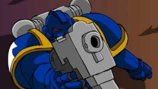 Space Marine and the cruelty of chance - mwg contest entry