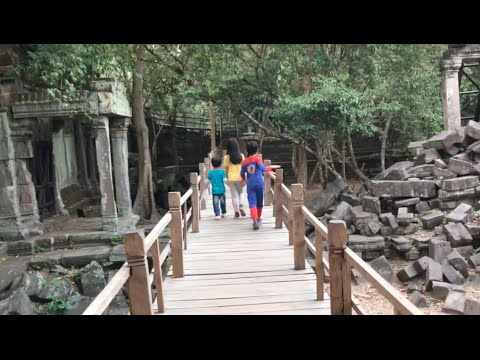 Beng Mealea or Boeng Mealea Temple at Siem Reap Province