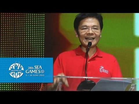 Minister Lawrence Wong on the 28th SEA Games & 8th PARA Games