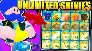 GET UNLIMITED SHINY PETS AND SECRET GENIE IN BUBBLE GUM SIMULATOR! (Roblox)