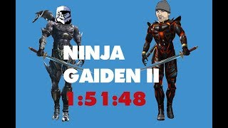 Ninja Gaiden 2 Speedrun Any% 1:51:48