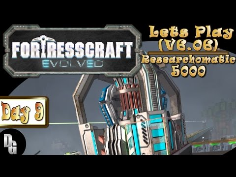 FortressCraft Evolved! ►Let's Play Episode 9 ► The Giant Researching Machine!