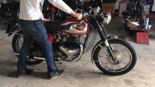 BSA Super Rocket 1960 650cc for Sale at We Sell Classic Bikes