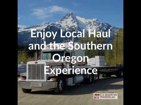 F V  Martin Trucking Company – Based in Southern Oregon