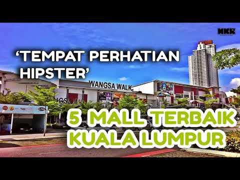 5 Mall Terbaik Kuala Lumpur - 'Tempat Perhatian Hipster'