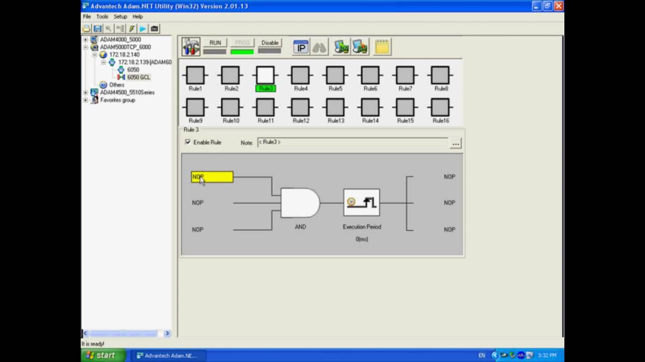 ADAM6000 GCL Tutorial Video Local Output, Advantech(EN)  YouTube