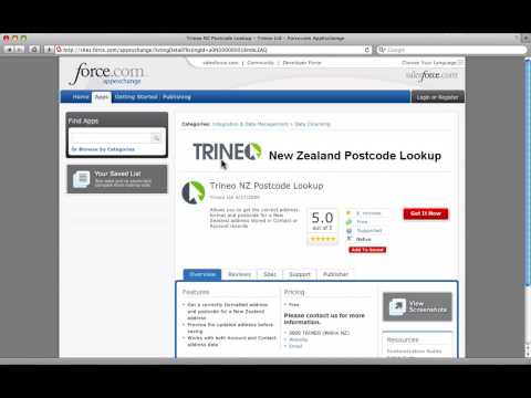 Trineo New Zealand Postcode Lookup - YouTube