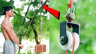 How To Make Homemade Workout Exercise GYM Equipment   Best GYM Ideas
