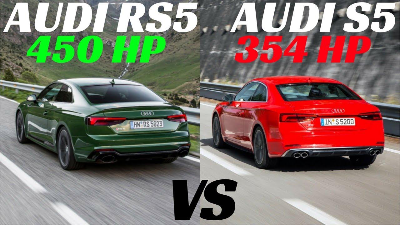 2018 AUDI RS5 VS S5 V6 SOUND CHECK ! - YouTube