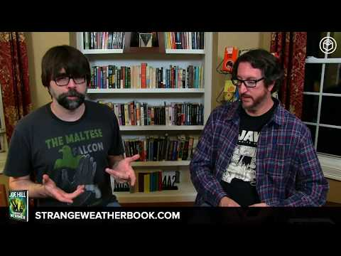 """Joe Hill's Book Signing & Interview 