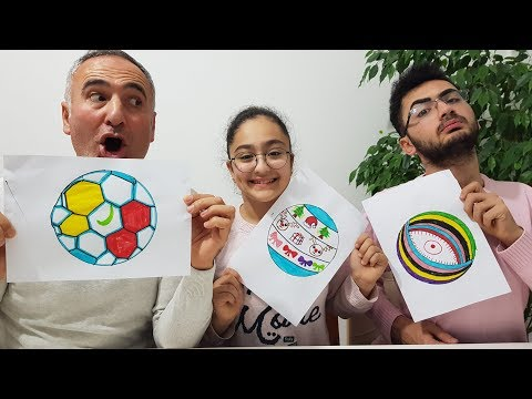 PAINT YOURSELF CHALLENGE !!! Happy Kids Games
