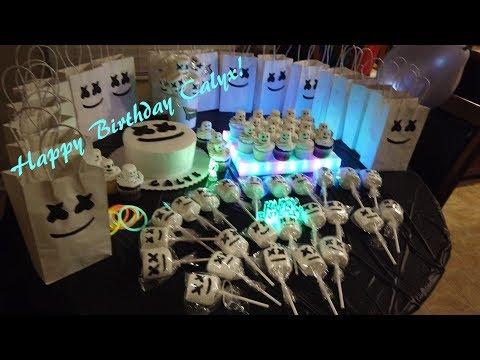 Calyx's MARSHMELLO Themed BDAY Party