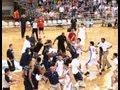 Pelea entre equipos de baloncesto de EE  UU  y China
