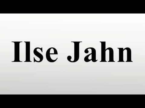 Ilse Jahn