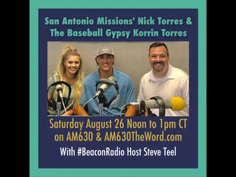 Nick and Korrin Torres on Beacon Radio 8-26-17