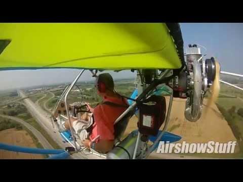 RideAlong! in an Aerolite 103 Ultralight - EAA AirVenture 2014
