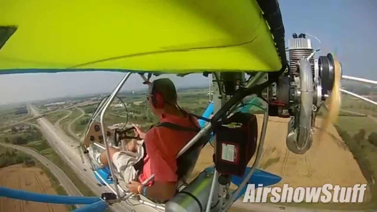 RideAlong! in an Aerolite 103 Ultralight - EAA AirVenture 2014