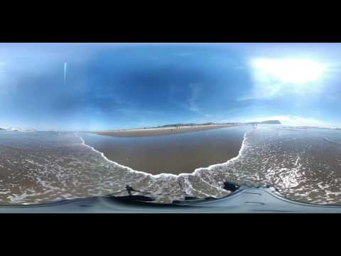 360 video at Seaside Beach