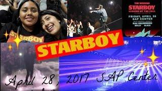 Concert Vlog: The Weeknd STARBOY Legend of The Fall Tour   San Jose SAP Center