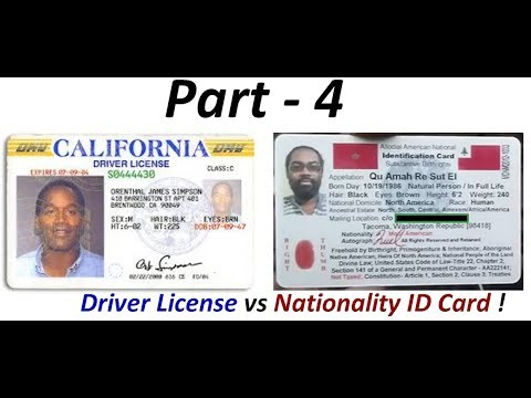 Driver License Fraud: Indigenous Americans 'Not' required to have Colonial Driver Licenses (Pt. 4) !