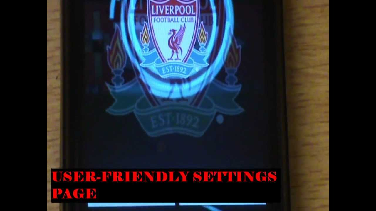 Liverpool LIVE Wallpaper - YouTube