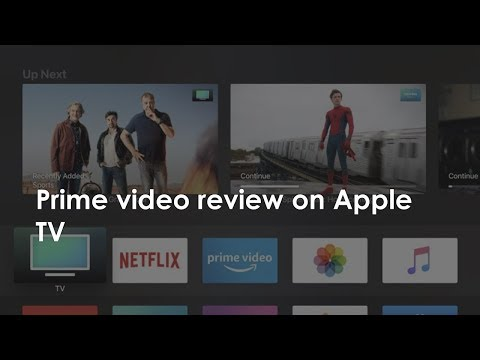 Prime Video Review On Apple TV