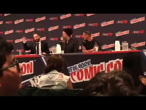 NYCC 2017Sons Of Anarchy Panel Theo Rossi and Ryan Hurst