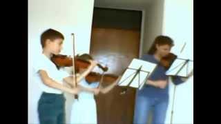 """Dancla: """"Trio for 3 Violins"""". Telemann: """"Canon"""""""
