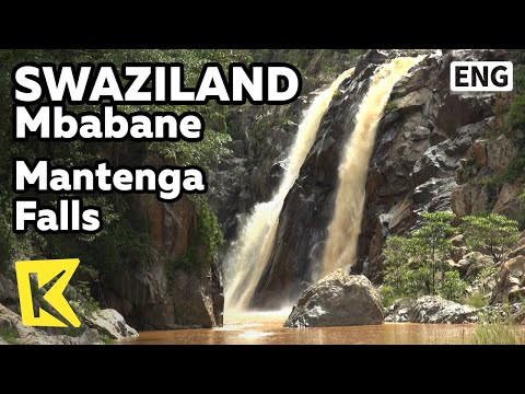 【K】Swaziland Travel-Mbabane[스와질란드 여행-음바바네]만텡가 폭포/Mantenga Falls/Valley