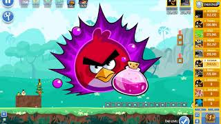 Angry Birds Friends tournament, week 318/B, level 4