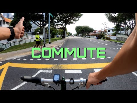Circuit Breaker BIKE COMMUTE (Brompton) - Upper East Coast Road / Mountbatten (Singapore)