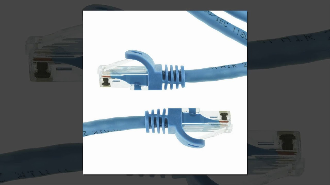 mediabridge ethernet cable 25 feet supports cat6 5e 5 550mhz 10gbps rj45 cord [ 1280 x 720 Pixel ]