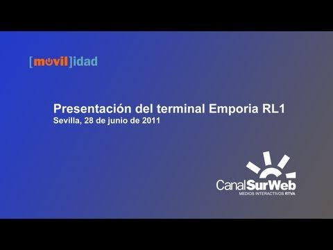 Presentación terminal Emporia Vodafone