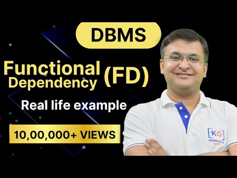 Part -1 | Functional Dependency in DBMS in HINDI | DATE BASE MANAGEMENT SYSTEM