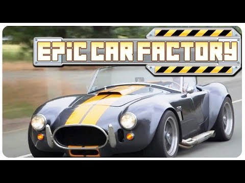 BUILD n' RUN your own CAR FACTORY TYCOON! | Epic Car Factory Gameplay