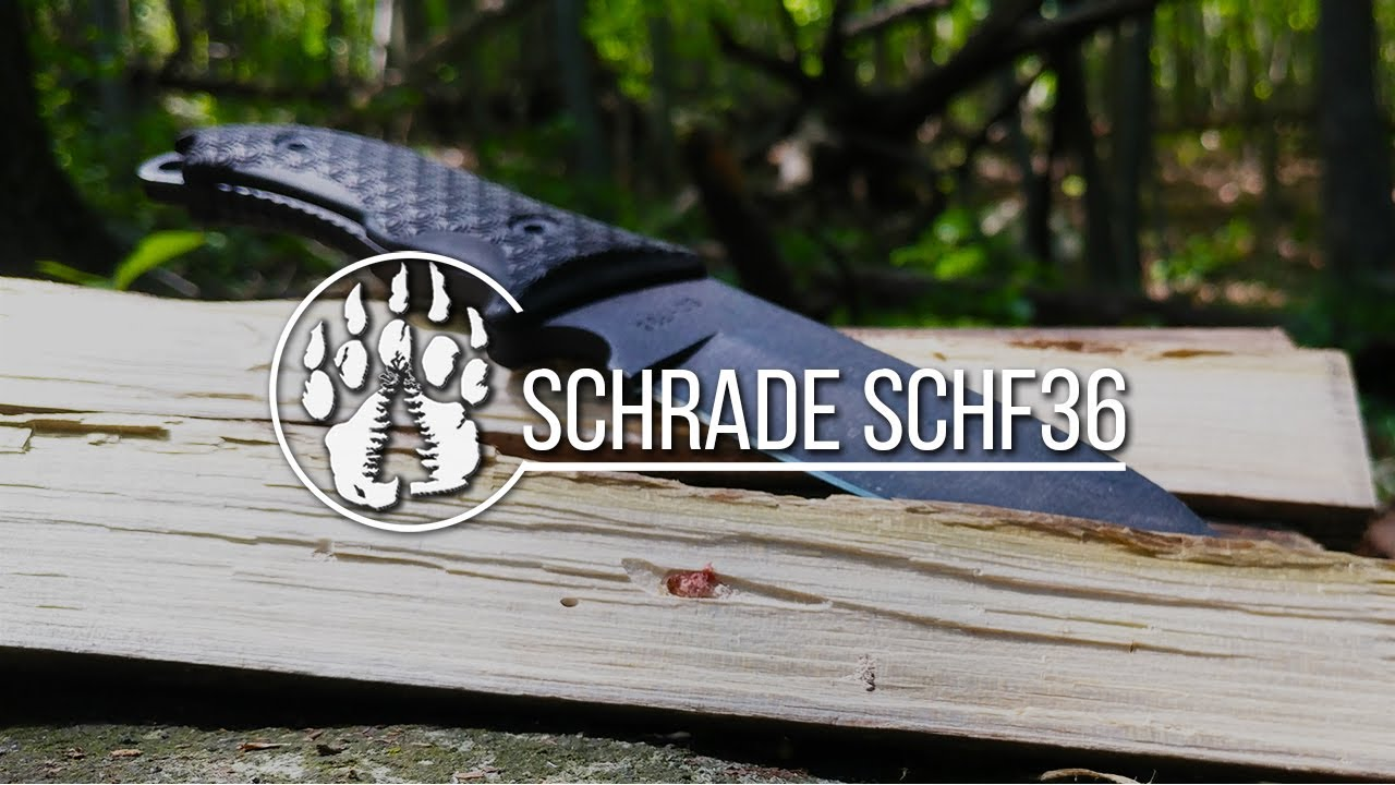 Gear Review: Schrade SCHF-36 Cheap Bushcraft and Survival Knife