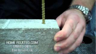 GRK Fasteners Info and Concrete Fastener Demo