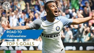 UDINESE vs INTER | TOP 5 GOALS | Brozovic, Maicon, Rafinha and more...!