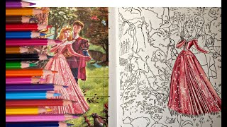 How To Color Back Lighting , Sleeping Beauty Part 1